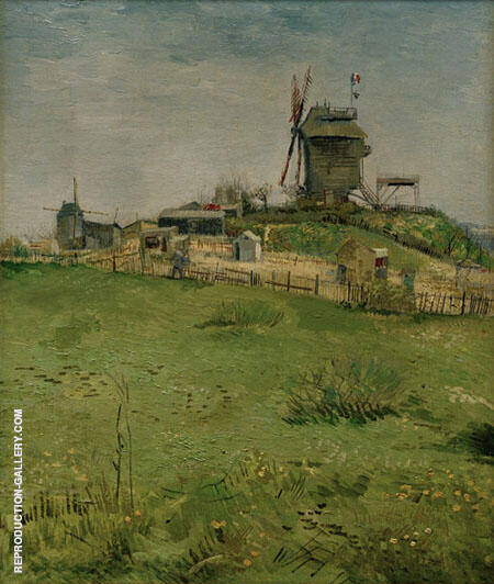 Le Moulin de La Galette By Vincent van Gogh