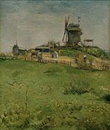 Le Moulin de La Galette By Vincent van Gogh