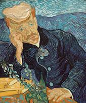 Portrait of Dr Gachet 1890 By Vincent van Gogh