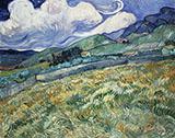 Landscape at St Remy 1889 By Vincent van Gogh