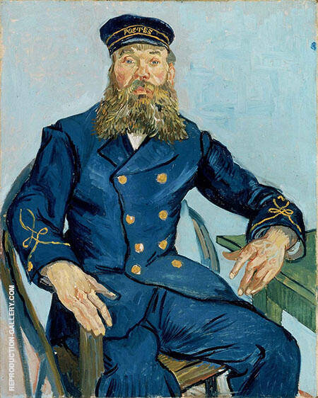 The Postman Joseph Roulin 1888 By Vincent van Gogh