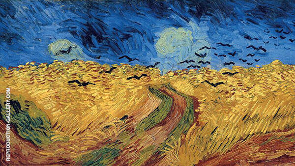 Wheat Field with Crows 1890 By Vincent van Gogh