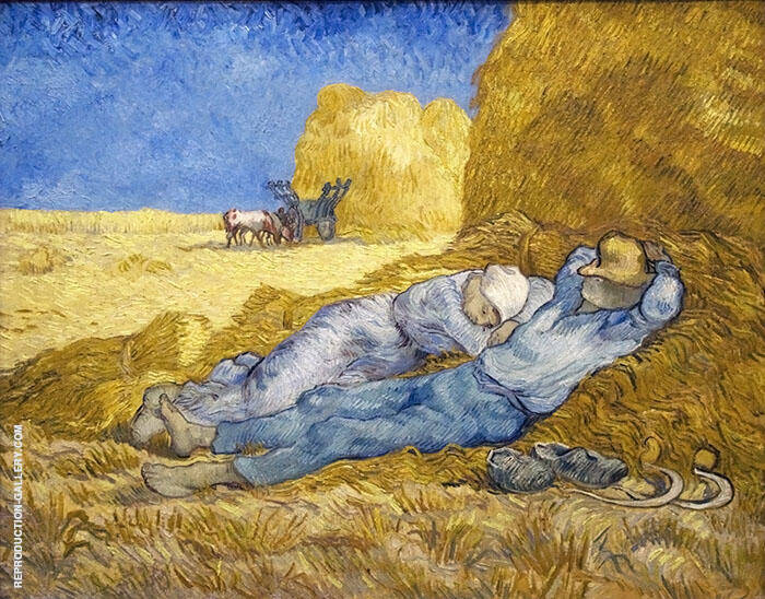 Noon Rest The Siesta 1890 By Vincent van Gogh