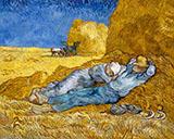 Noon Rest The Siesta 1890 By Vincent van Gogh