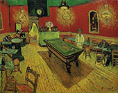 Night Cafe 1888 By Vincent van Gogh