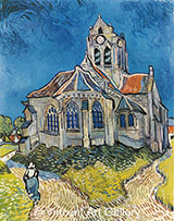 The Church at Auvers By Vincent van Gogh