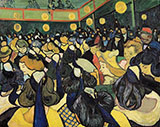 The Dance Hall in Arles By Vincent van Gogh
