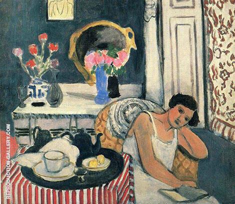 Breakfast 1920 By Henri Matisse
