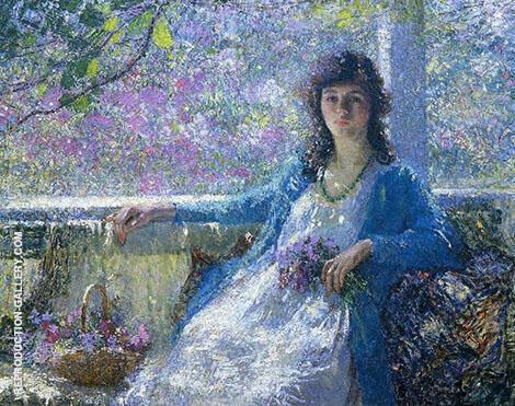 Morning 1919 By Helen M Turner