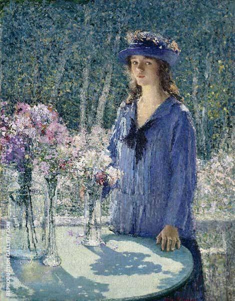 The Flower Girl By Helen M Turner