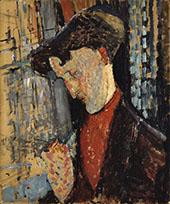 Portrait of the Painter Frank de Haviland By Amedeo Modigliani