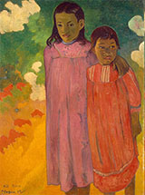 Two sisters Pititeina 1892 By Paul Gauguin