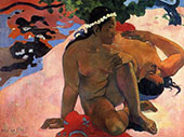 Are you Jealous 1892 By Paul Gauguin