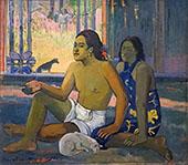 Not Working Eiaha Ohipa 1896 By Paul Gauguin
