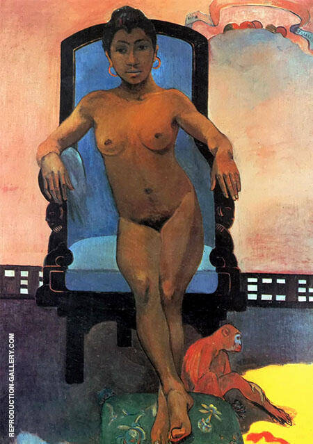 Anna the Java Woman By Paul Gauguin