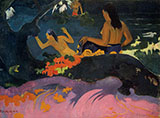 By the Sea Fatatate Miti 1892 By Paul Gauguin