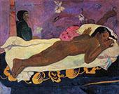 Manao Tupapau The Spirit of the Dead Keep Watch 1892 By Paul Gauguin