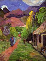 Road in Tahiti 1891 By Paul Gauguin