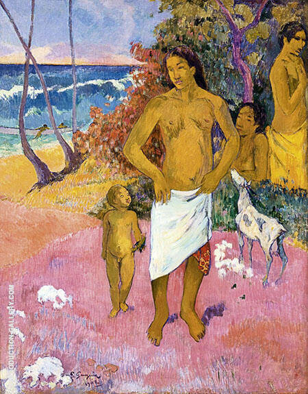 Bathers Baigneurs Bathers 1902 By Paul Gauguin