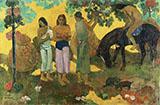 In Olden Times Matamua 1892 By Paul Gauguin