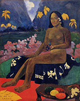 The Seed of Areoi 1892 By Paul Gauguin