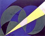 Blinee and Amentali Luce 1918 By Giacomo Balla