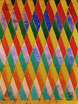 Iridescent Compenetration By Giacomo Balla