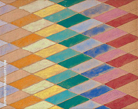Iridescent Interpenetrations By Giacomo Balla