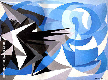 Pessimism And Optimism Painting By Giacomo Balla - Reproduction Gallery