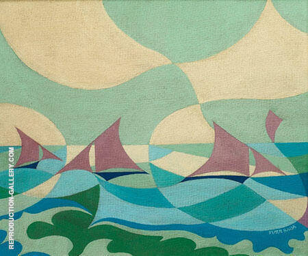 Sea Sails By Giacomo Balla