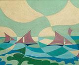 Sea Sails By Giacomo Balla