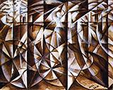 Velocity of Cars and Light 1913 By Giacomo Balla