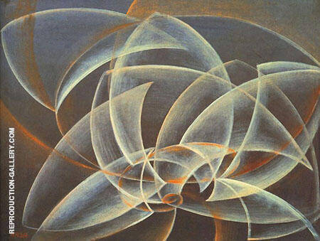 Vortex Space form By Giacomo Balla