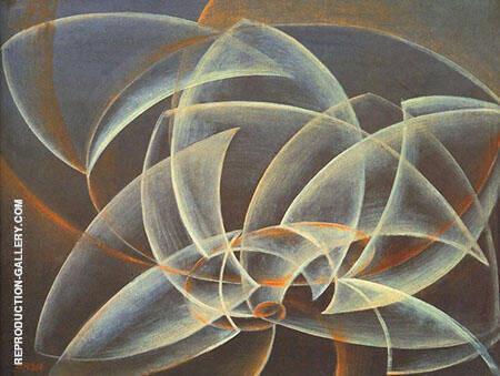 Vortex Space form By Giacomo Balla