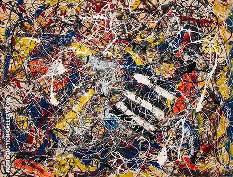 Number 17a By Jackson Pollock