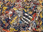 Number 17a By Jackson Pollock (Inspired By)