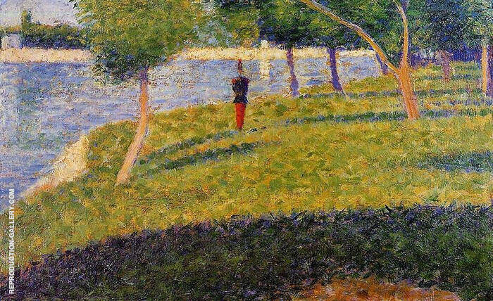 Cadet from Saint Cyr 1884 By Georges Seurat