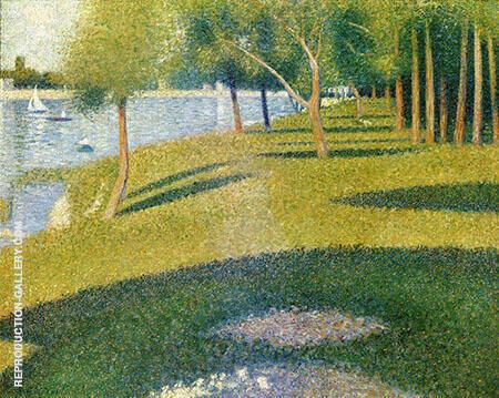 La Seine a La Grande Jatte 1884 By Georges Seurat Replica Paintings on Canvas - Reproduction Gallery
