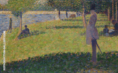 Study for La Grande Jatte 1884 By Georges Seurat