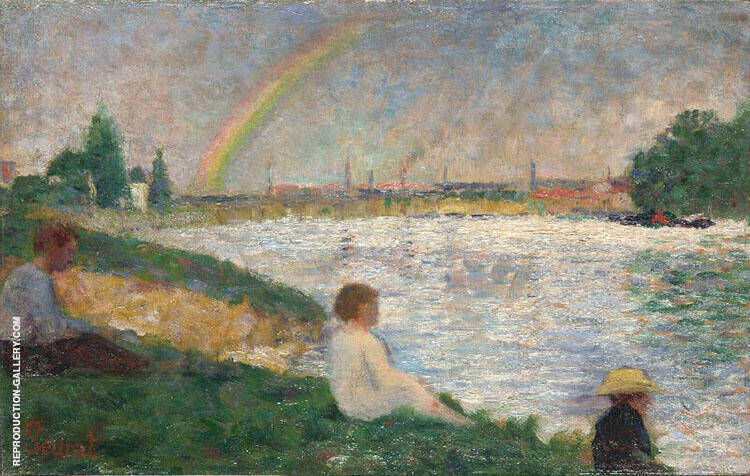 The Rainbow 1883 By Georges Seurat