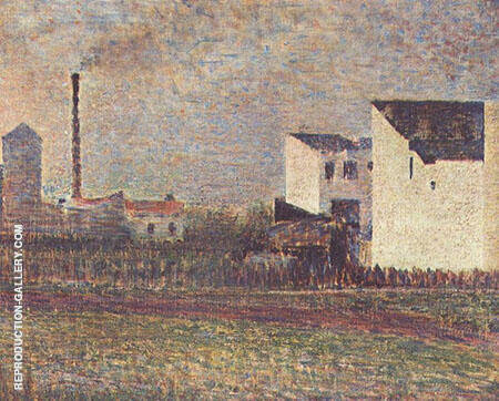 The Suburbs 1882 By Georges Seurat