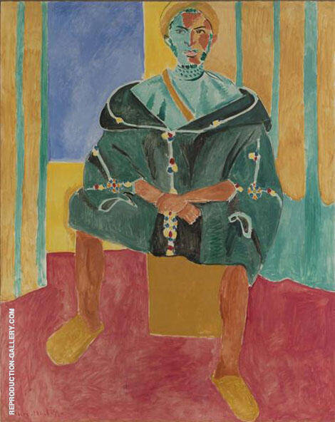 Seated Riffian Le Rifain Assis 1912 By Henri Matisse