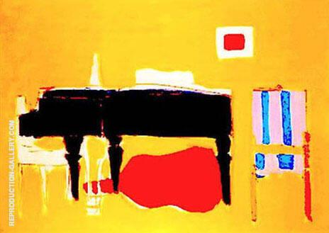 Le Piano By Nicolas De Stael