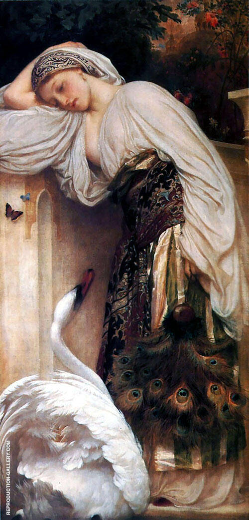 Odalisque 1862 By Frederick Lord Leighton