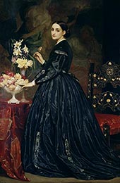 Mrs James Guthrie c1864 By Frederick Lord Leighton