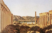 The Temple at Philae 1868 By Frederick Lord Leighton
