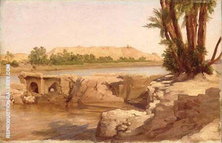 Nile Landscape 1868 By Frederick Lord Leighton