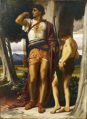 Jonathan's Token to David c1868 By Frederick Lord Leighton