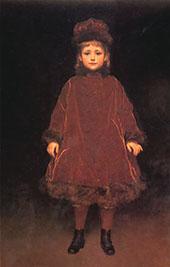Miss Ruth Stewart Hodgson c1877 By Frederick Lord Leighton