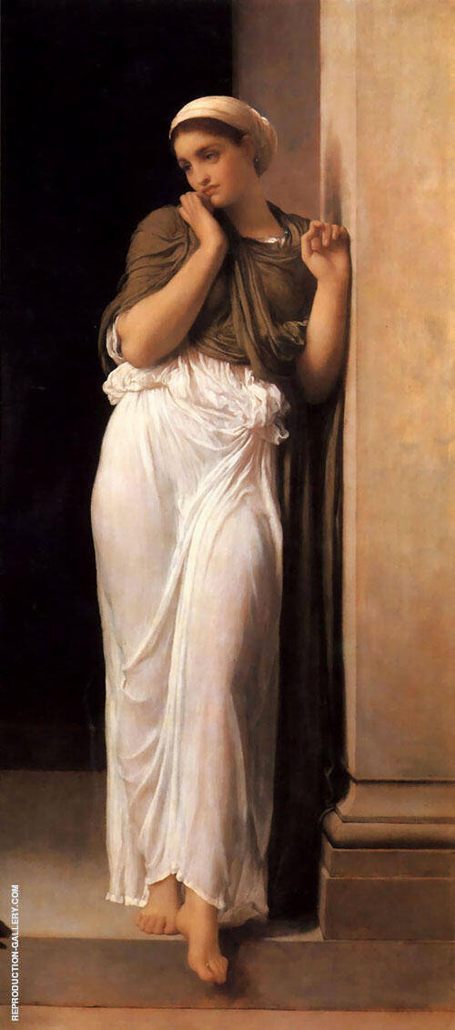 Nausicaa c1878 Painting By Frederick Lord Leighton - Reproduction Gallery